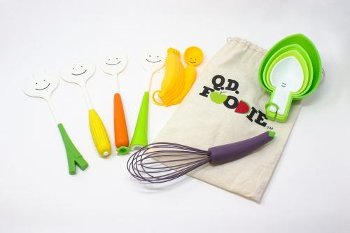 Q.D. Foodie Kitchen Tools And Bag